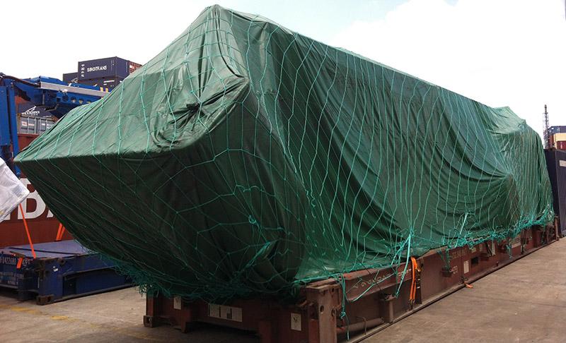 心龙物流为工作升降平台车提供大件物流运输服务!